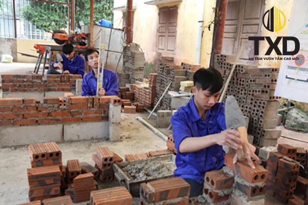 Giá nhân công xây dựng Thành phố Hà Nội