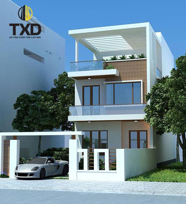 100+ Mẫu thiết kế nhà ống 2 tầng   Kiến trúc nhà ống 2 tầng đẹp