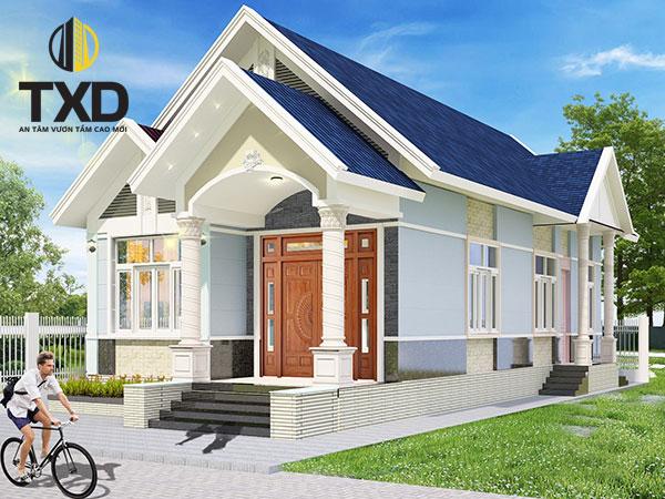 900 mẫu nhà cấp 4 đẹp 2020 đánh giá bởi txdconstruction