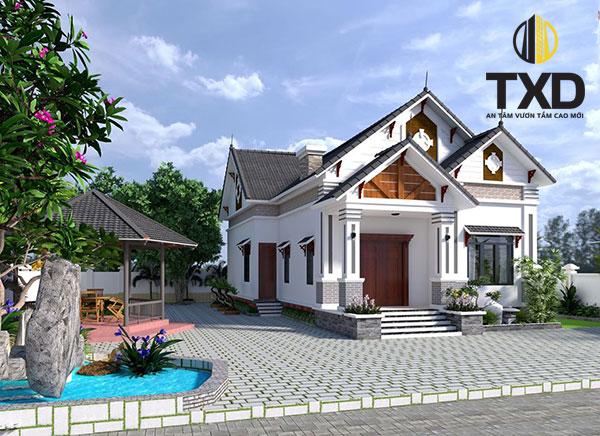 370 Mẫu thiết kế nhà cấp 4 hiện đại đẹp cho người thu nhập thấp