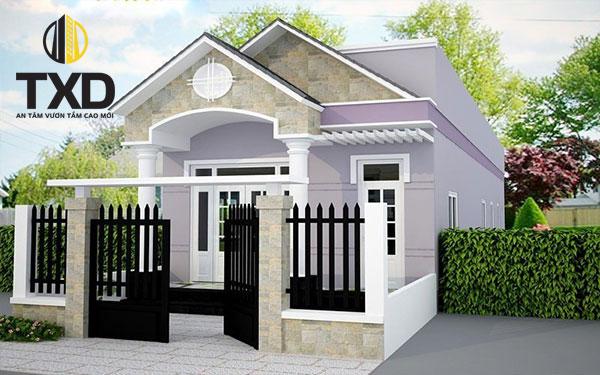 Những mẫu thiết kế ngôi nhà cấp 4 đẹp giá tốt và hiện đại