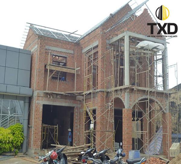 Báo giá xây nhà phần thô - cách tính xây nhà theo mét vuông