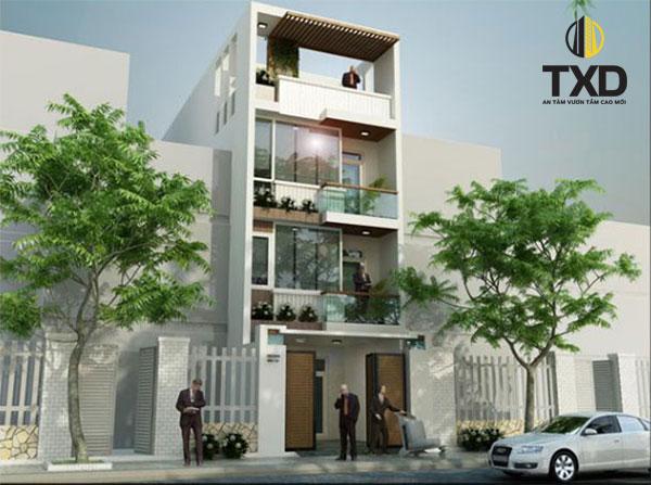 Mẫu thiết kế nhà đẹp biệt thự cổ điển Pháp này nằm ở Biên Hoà