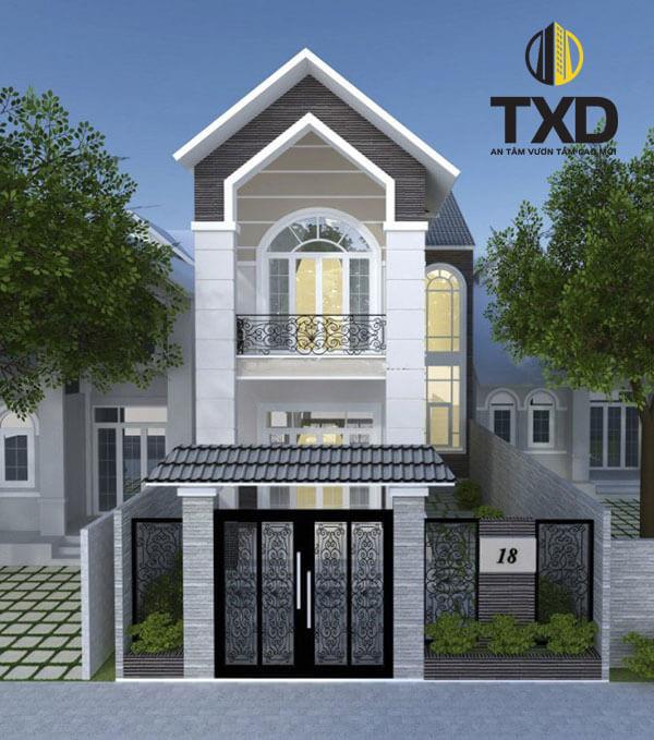 Giá xây nhà 2 tầng trọn gói bao nhiêu tiền