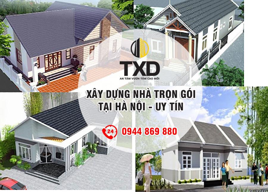 Báo giá xây nhà trọn gói tại Hà Nội Giá Rẻ - Uy Tín năm 2021