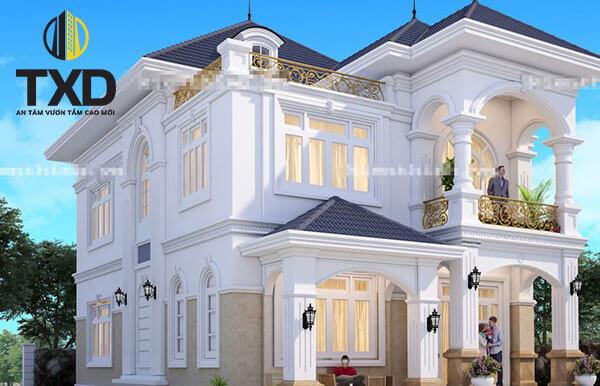 500 mẫu biệt thự 2 tầng hiện đại thiết kế phong thủy đẹp hút hồn