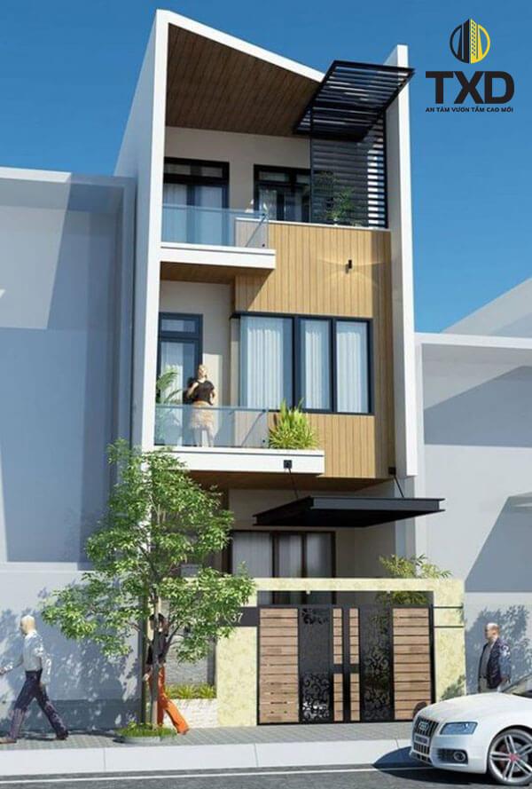 Báo giá xây dựng nhà phố 4 tầng trọn gói hiện nay