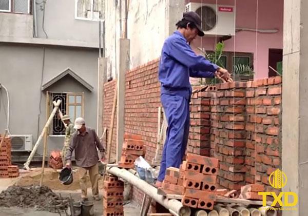 Đơn Giá Tiền nhân công xây dựng giá bao nhiêu tiền 1m2