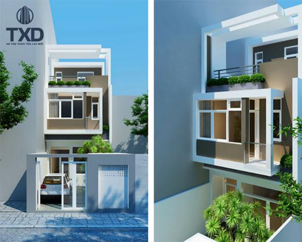 Báo giá thiết kế nhà phố Đẹp   150 Mẫu Nhà Phố Kiểu Mới 2021