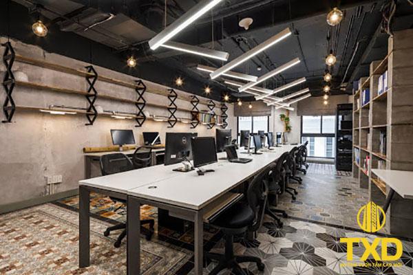 Thi công thiết kế văn phòng trọn gói