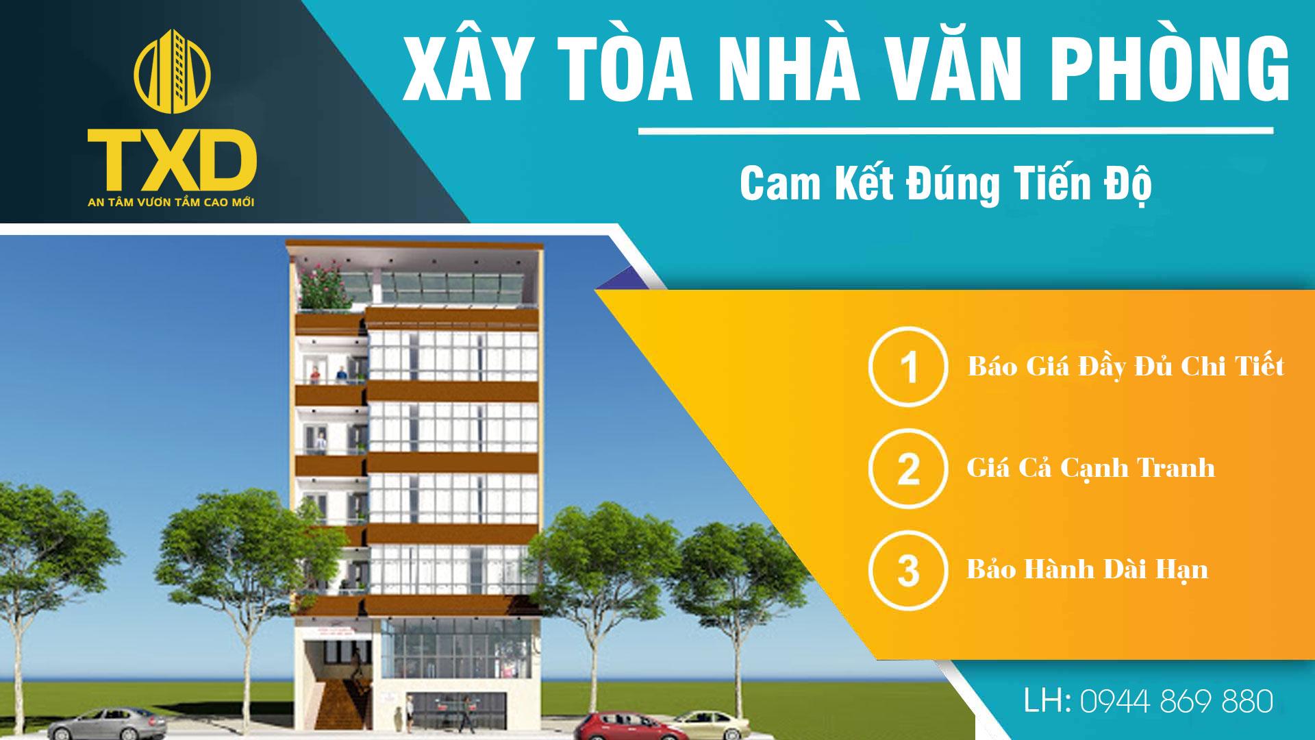 Xây tòa nhà văn phòng tại Hà Nội 2022 Uy Tín - Giá Rẻ